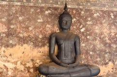 Black buddha at Wat Suthat Thepwararam, Bangkok, Thailand Royalty Free Stock Photo