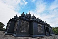 Black Budha Temple Royalty Free Stock Photography