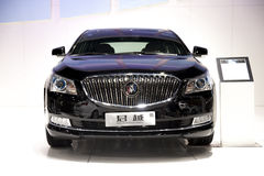 Black buick lacrosse car Royalty Free Stock Photo
