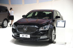Black buick lacrosse car Royalty Free Stock Photos