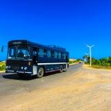 Black Bus during Daytime Royalty Free Stock Image
