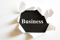 Black business Royalty Free Stock Photo