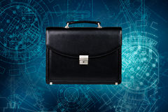 Black business briefcase Royalty Free Stock Photography