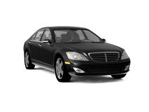 Black business class car Royalty Free Stock Photography