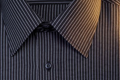 Black business clothing shirt Royalty Free Stock Images