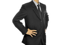 Black Business Suit Stock Photography