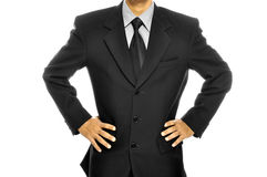 Black Business Suit Royalty Free Stock Photos