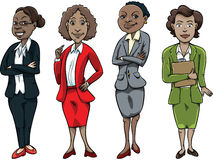 Black Business Woman Royalty Free Stock Photo