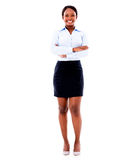 Black business woman Stock Image