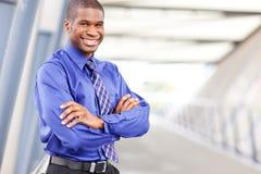 Black businessman Stock Photo