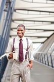 Black businessman Stock Photos