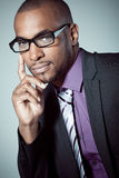 Black businessman portrait Stock Image