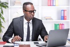 Black businessman royalty free stock images