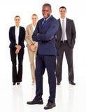 Black businessman team Royalty Free Stock Photo