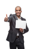 Black businessman Stock Image