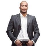 Black businessman Stock Image