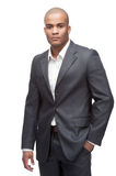 Black businessman Stock Photo