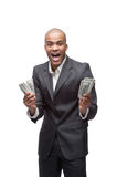 Black businessman Stock Images