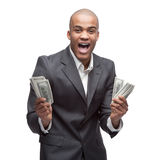Black businessman Royalty Free Stock Photos