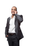 Black businessman Royalty Free Stock Image