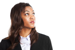 Black businesswoman Stock Photography