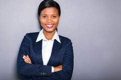 Black businesswoman portrait Stock Photo