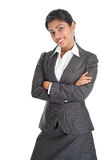Black businesswoman smiling Royalty Free Stock Image