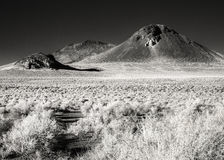 Black Butte, northern Nevada desert Stock Photos