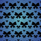 Black butterflies Royalty Free Stock Images