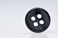 Black button. In standing position Royalty Free Stock Photo
