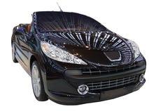 Black cabriolet Royalty Free Stock Photo