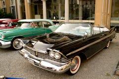 Black Cadillac Royalty Free Stock Image