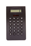 Black calculator Royalty Free Stock Image