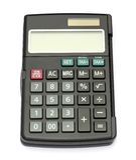 Black calculator Stock Image