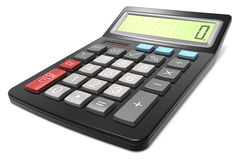 Black Calculator. Royalty Free Stock Image