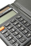 Black calculator Royalty Free Stock Photos