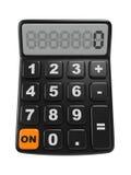 Black Calculator. Mathematics object. Royalty Free Stock Photography