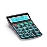 Black calculator Stock Photography