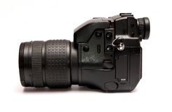 Black camera Royalty Free Stock Photo