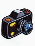 Black camera Stock Photos
