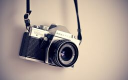 Black Camera Stock Photos