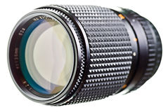 Black camera lens Stock Photography