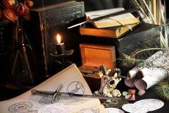 Free Black Candle Magic Ritual Royalty Free Stock Photos - 81038828