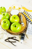 Black candy apples Royalty Free Stock Images