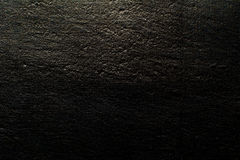 Black canvas background illuminated from and vintage grunge back Stock Photography