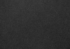 Black canvas textile pattern texture Stock Photo