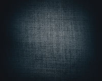 Black canvas texture or background Stock Images