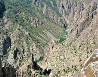 Black Canyon of the Gunnison royalty free stock image