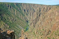 Black Canyon of the Gunnison Stock Photography