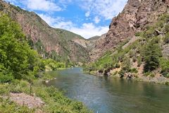 Black Canyon of the Gunnison Stock Images